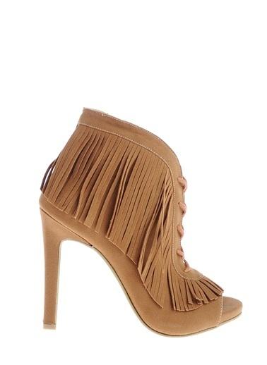 Derigo Topuklu Ayakkabı Taba